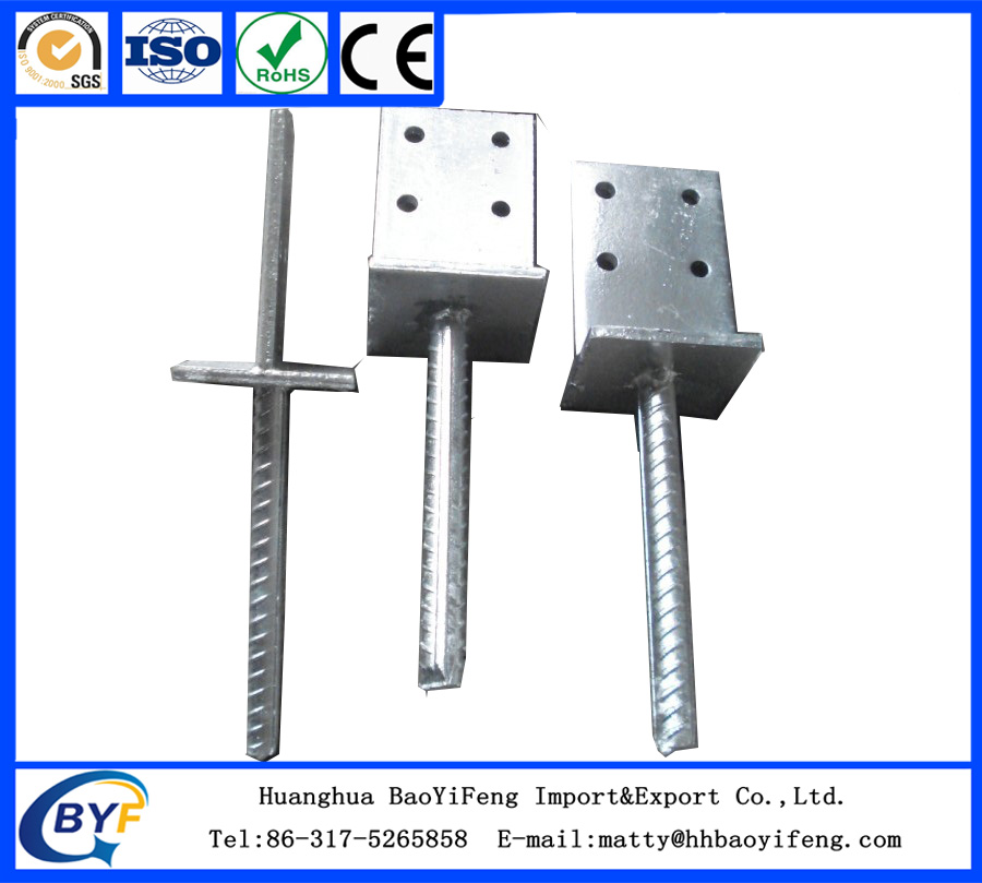 T Form Pole Anchor
